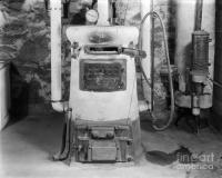 Coal Burning Home Furnace, C.1920-30s Photograph by H ...
