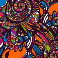 Colorful Doodle Art Digital Art by Francis Baylon