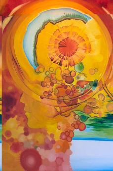 Critical thinking Painting by Ricardo Colugnatti