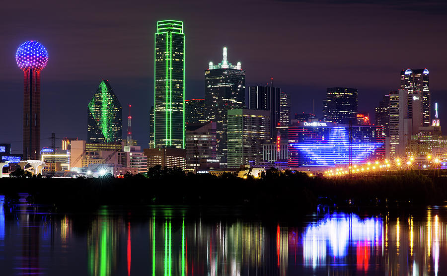 Dallas Stars Wallpaper Iphone Dallas Cowboys Star Night Photograph By Rospotte Photography