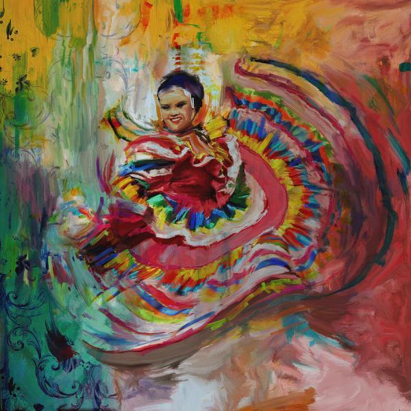 Dancer 266 1 Painting Mawra Tahreem