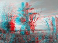 Dark Days - Use Red-cyan 3d Glasses Photograph by Brian ...