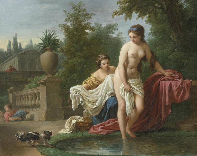 Image result for david and bathsheba painting