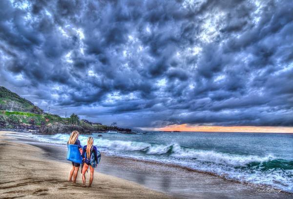 Days End Waimea Beach North Shore Oahu Hawaii Collection
