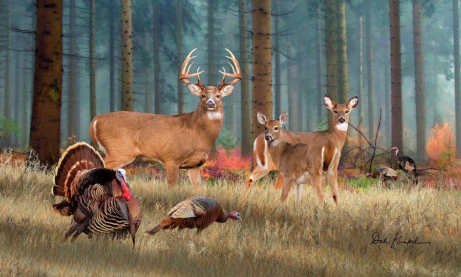 Deer Hunting Home Decor