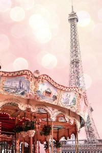 Dreamy Eiffel Tower Carousel Merry Go Round - Paris Baby ...