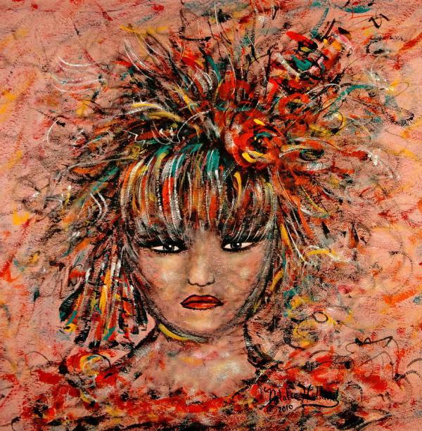 Dancer Exotic Artwork Painting