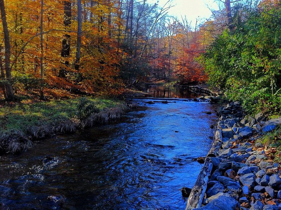 Fall Smoky Mountains Wallpaper Fall Mountain Stream Photograph By Jennifer Ringley