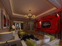 Ferrari Enzo Art Wall Digital Art by Edier C