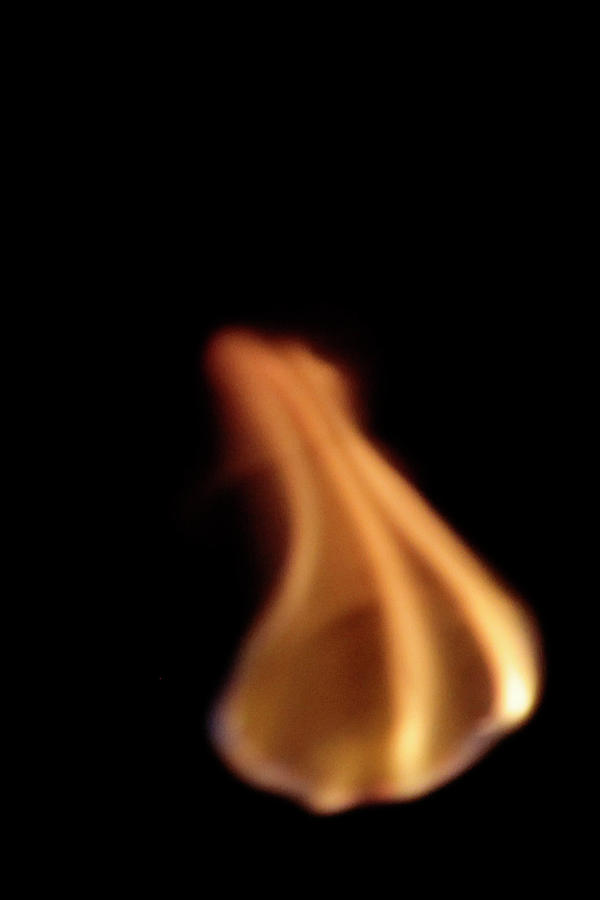 flaming marshmallow by pauline