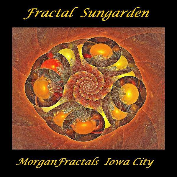 Fractal Sungarden Logo Digital Art Doug Morgan