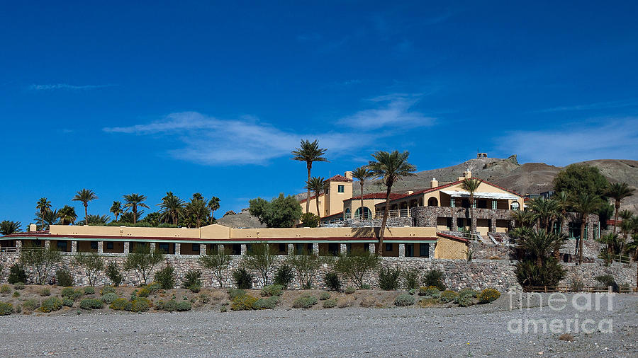 Furnace Creek Inn Death Valley National Park Photograph by
