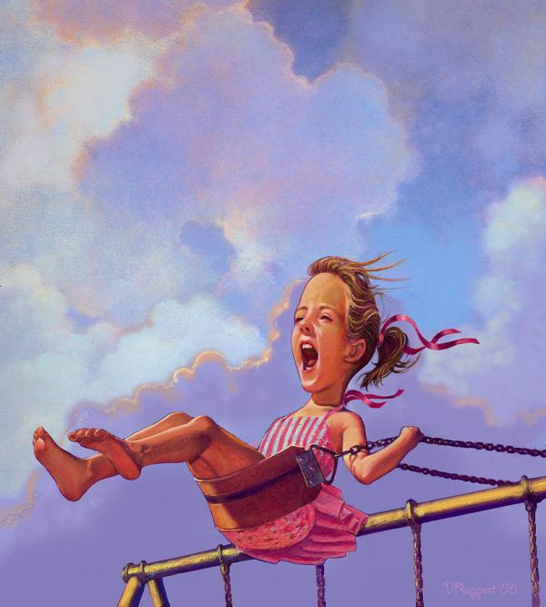 Girl Swing Pastel Lash Larue