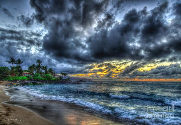 Goodbye Until Tomorrow 2 North Shore Sunset Oahu Hawaii