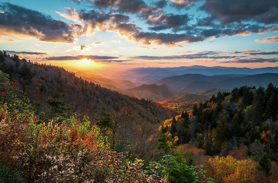 Kentucky Fall Wallpaper 2017 Great Smoky Mountains National Park Nc Scenic Autumn