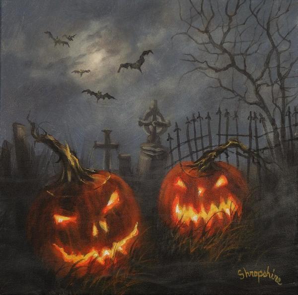 Beautiful Halloween Paintings