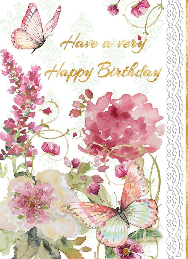 Birthday Card Painting : birthday, painting, Happy, Birthday, Greeting, Painting, Plout