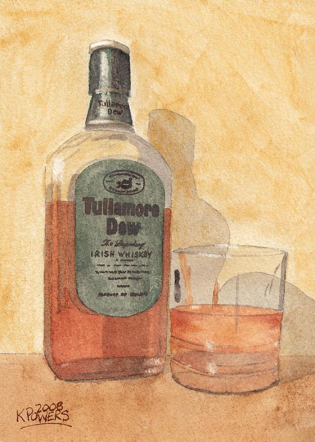 Irish Whiskey Painting by Ken Powers
