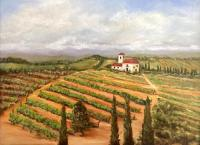 Italian Countryside Painting by Carol Lundberg