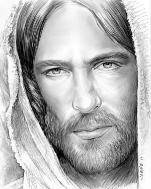 jesus face drawing joens greg drawings 21st uploaded december which