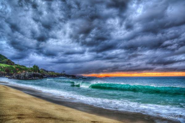 Legendary Surfing Waimea Bay North Shore Oahu Hawaii