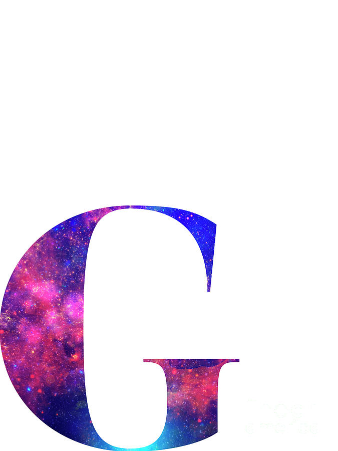 letter g galaxy in
