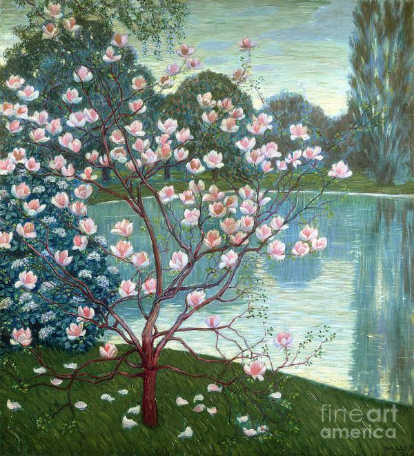 Magnolia Painting Wilhelm List