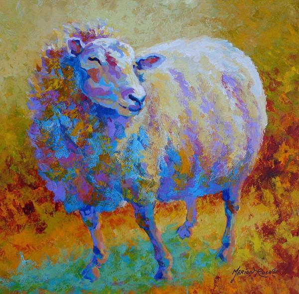 Sheep Painting Marion Rose