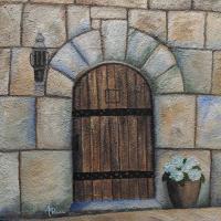 Medieval Door & Medieval Door Old