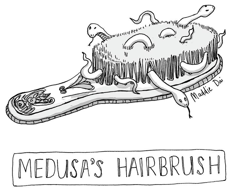 Medusas Hairbrush by Maddie Dai