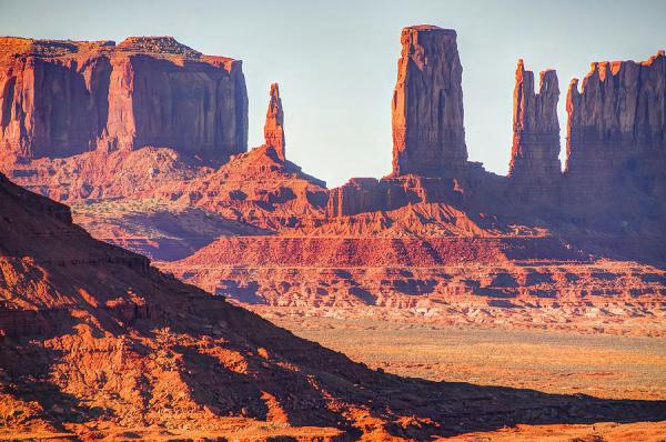 monument valley artist point rock