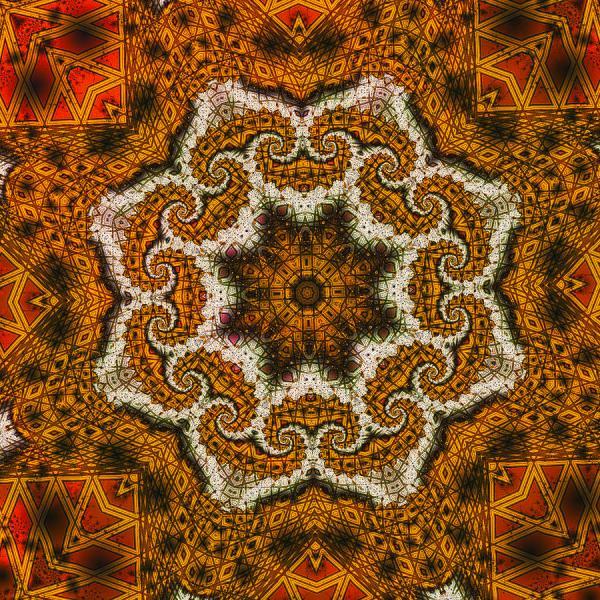 Mosaic Antigua Digital Art Richard Ortolano