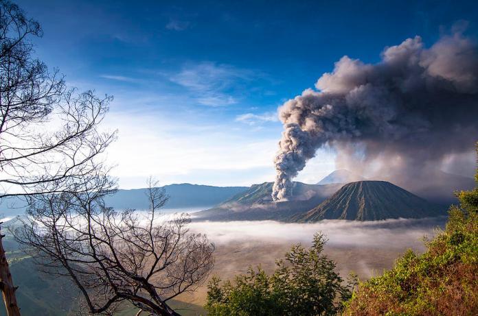 Mount Bromo Eruption Photograph By Muslianshah Masrie