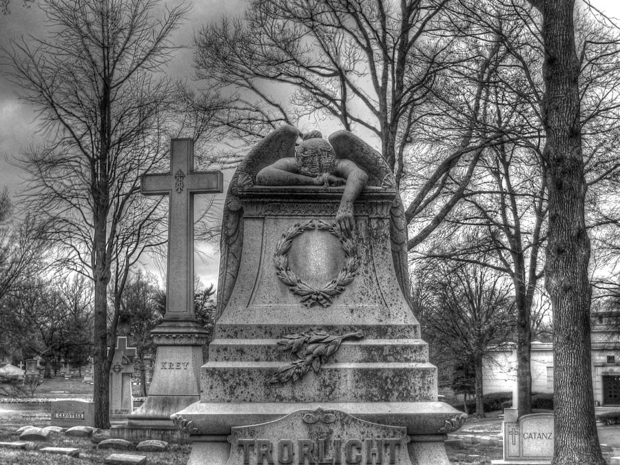 Mourning Angel Photograph By Jane Linders