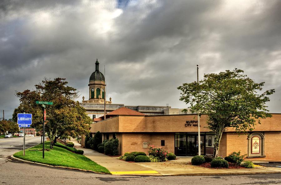 Murphy North Carolina City Hall Photograph by Greg Mimbs