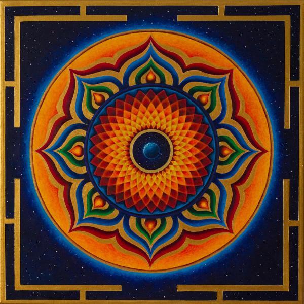 Namaste Painting Erik Grind