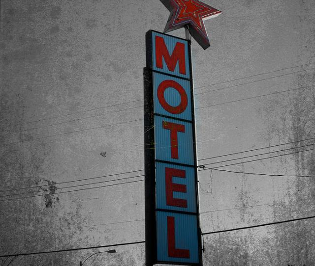 Motel Photograph No Tell Motel By The Artist Project