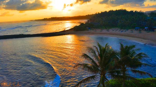 North Shore Of Oahu Photograph by Michael Rucker