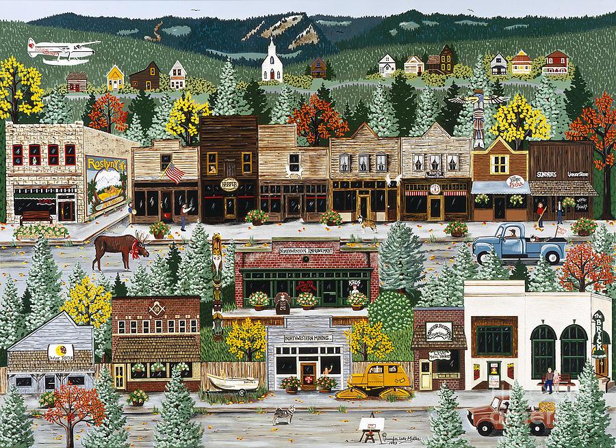 Jennifer Lake Paintings