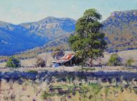 Old Shed Hartley Painting by Graham Gercken