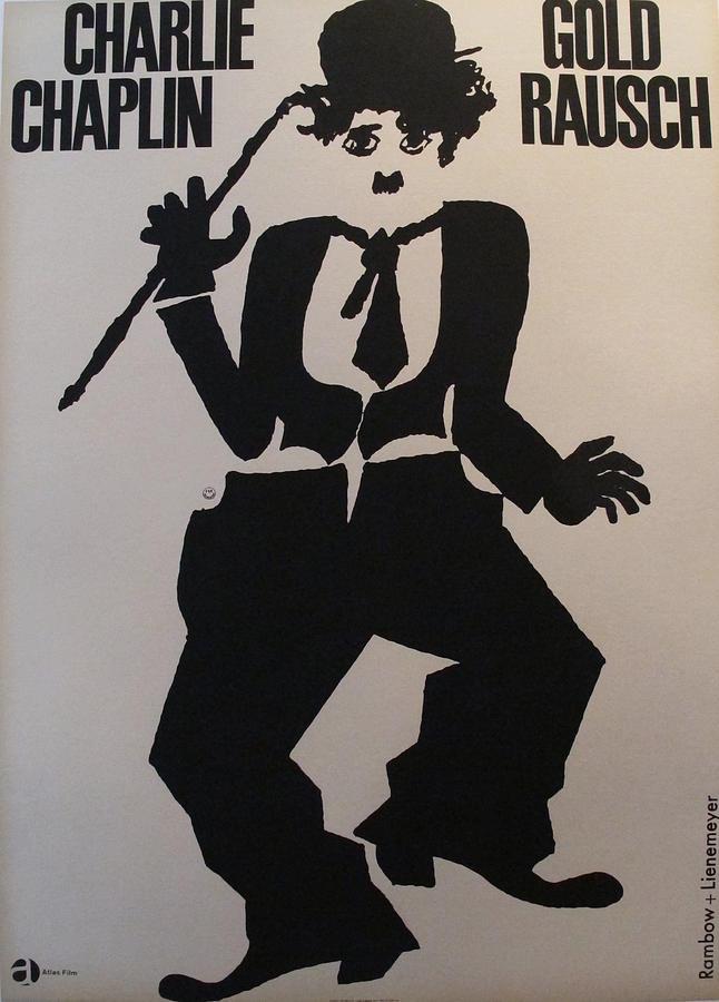 original german charlie chaplin poster