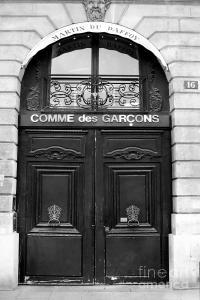 Paris Doors - Black And White French Door - Paris Black ...