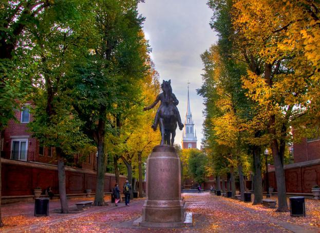 Resultado de imagen de old north church boston