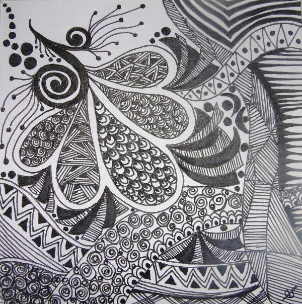 Pen Art Drawings