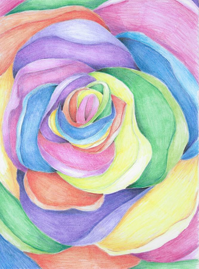 Rainbow Rain Experiment - Growing A Jeweled Rose