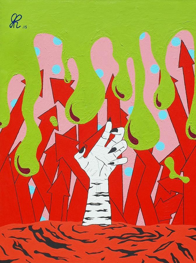 Slime Painting : slime, painting, Rebirth, Painting, Jeremy, Roark