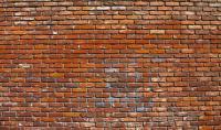 Red Brick Wall Photograph by Jera Sky