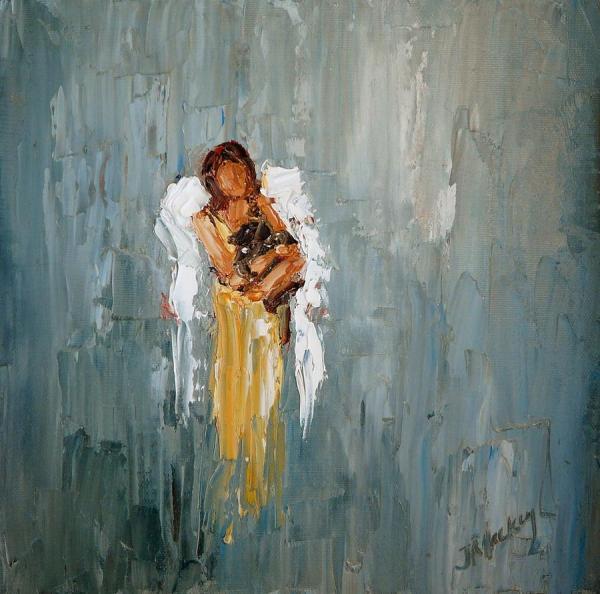 Judy Mackey Paintings Angel