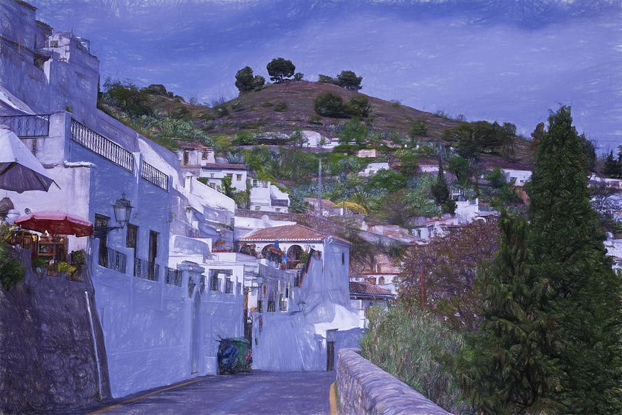 Sacromonte Neighborhood Granada Spain