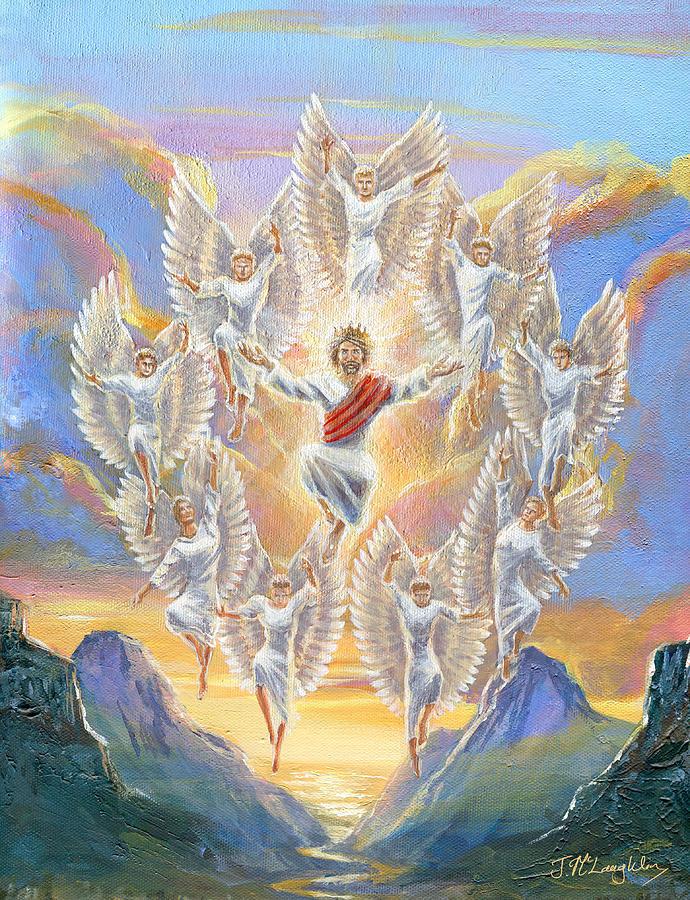 Jesus Second Coming Painting : jesus, second, coming, painting, Second, Coming, Painting, Jenny, McLaughlin